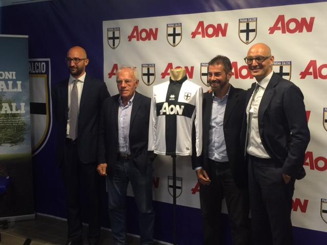 Aon nuovo sponsor Parma