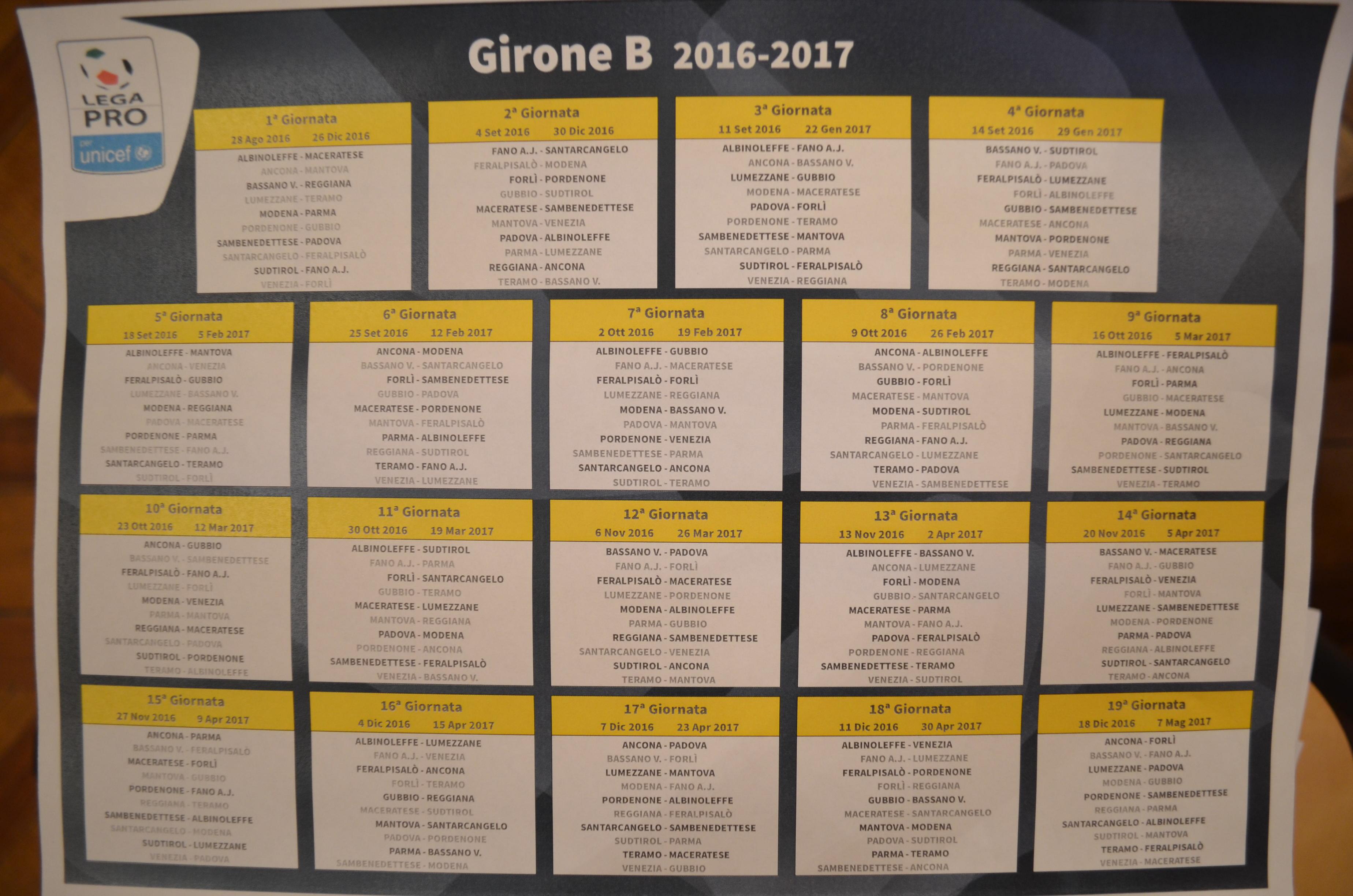 Calendario Parma Lega Pro.Ecco Il Calendario Della Lega Pro Dulcis In Fundo Derby