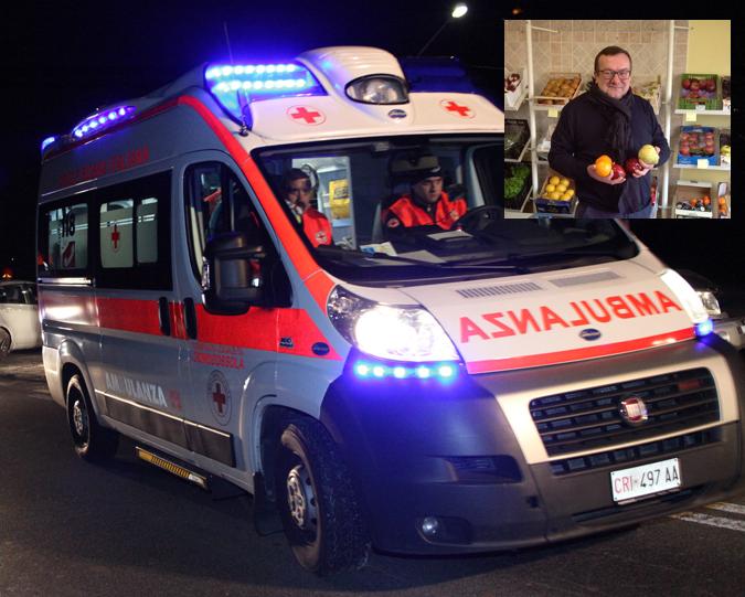 Fidenza (Parma): incidente in tangenziale, Fiat Doblò contro camion, c'è una vittima