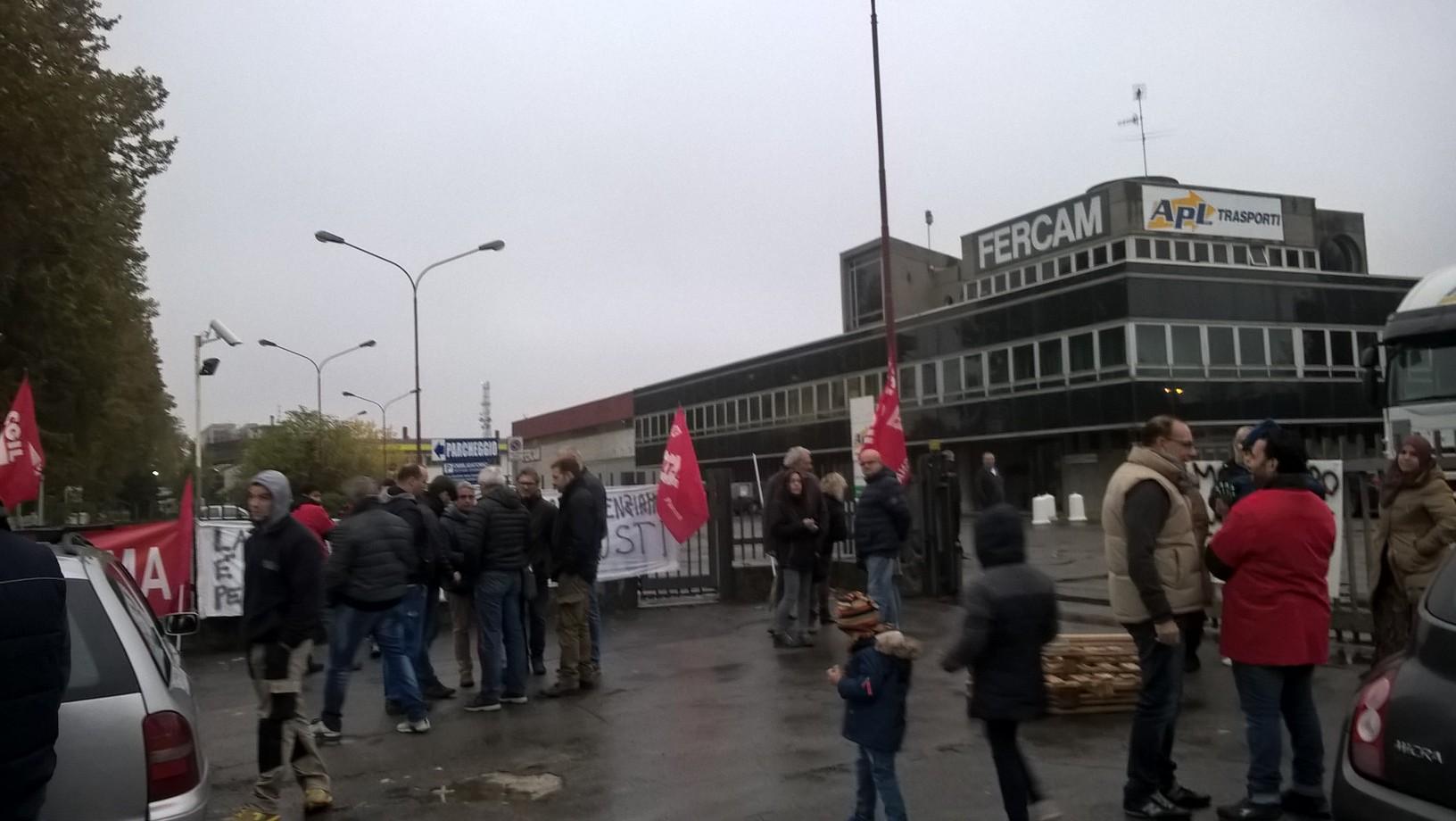 Lavoro, i lavoratori dello stabilimento Artori danno il via allo sciopero