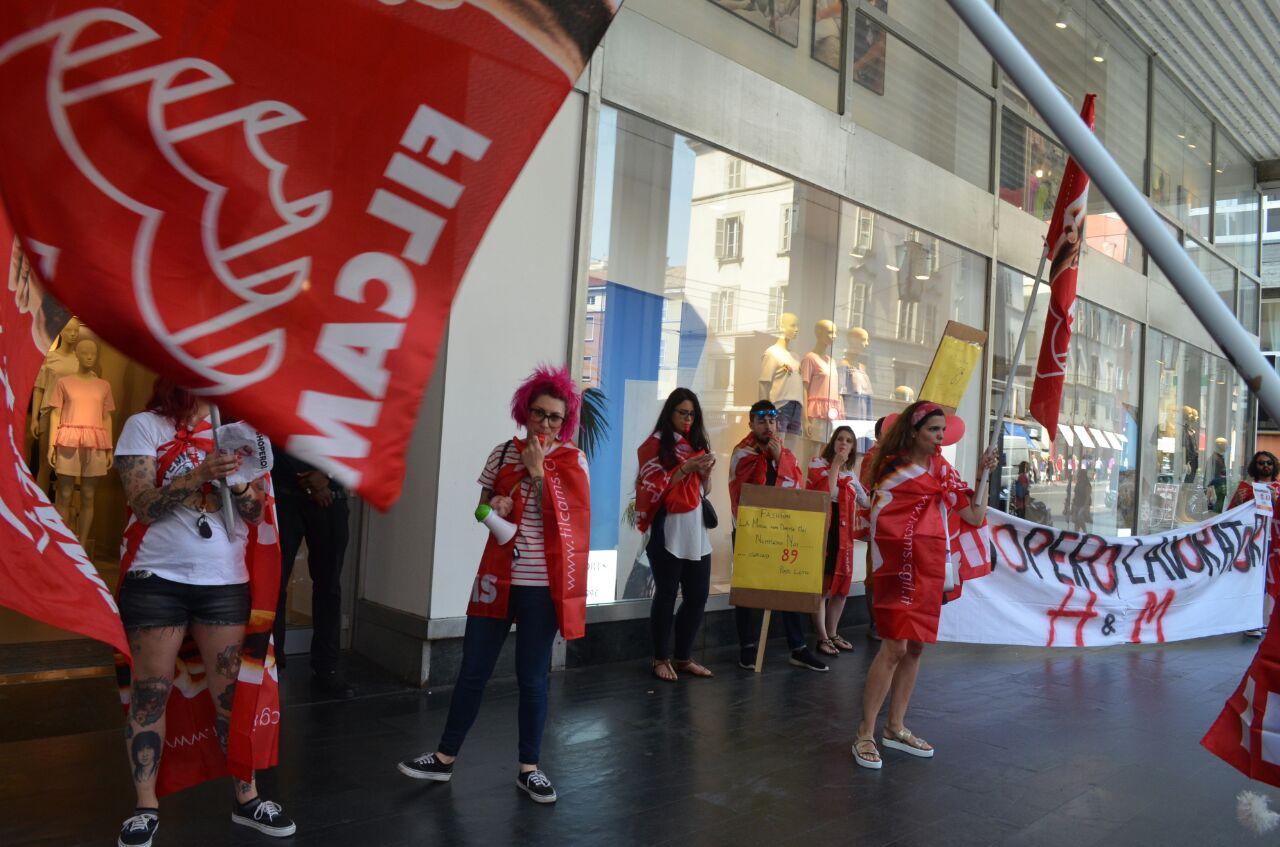 H&M, il 10 giugno è sciopero a Milano