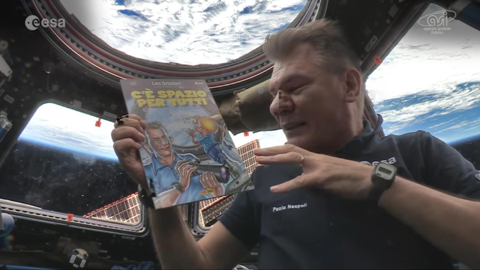 Rat-Man: il fumetto di Leo Ortolani in orbita sulla stazione spaziale