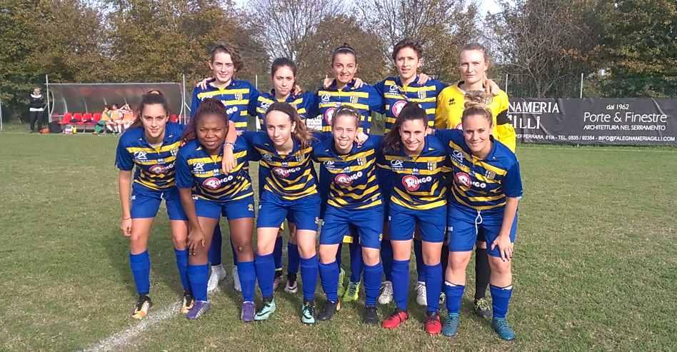 serie c femminile, 5^ giornata / new team ferrara-parma 1-2