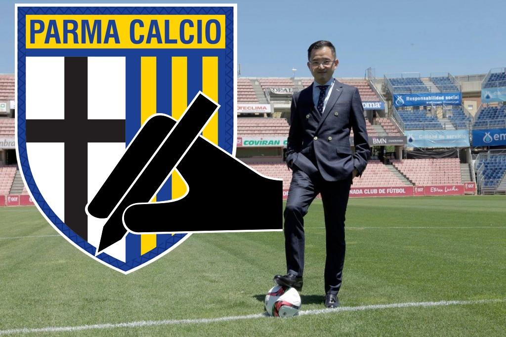 Parma, il presidente Lizhang: