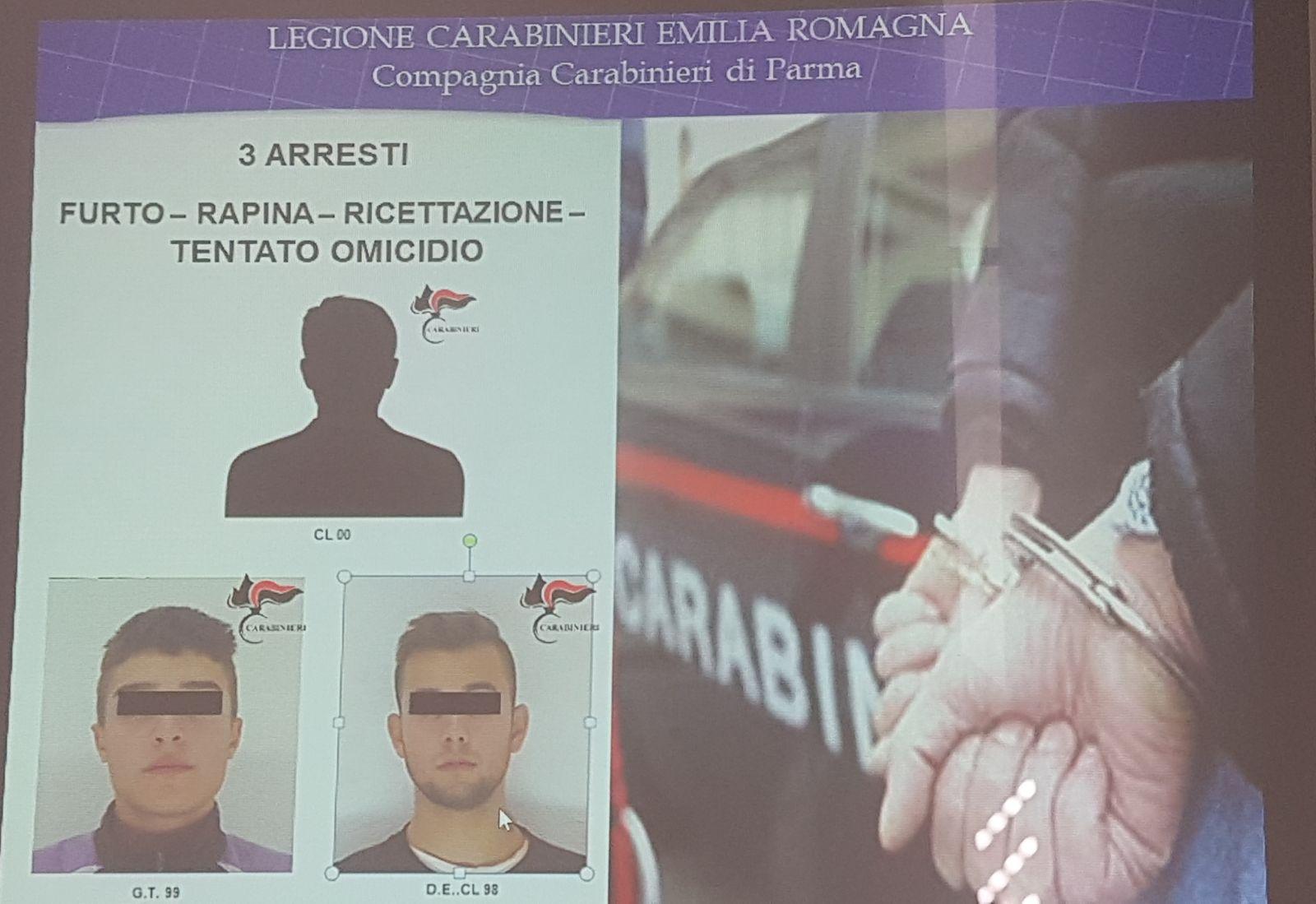 Furto e tentato omicidio di due Carabinieri  carcere per banda di ladri  capitanata da minorenne 58dcc688ca8