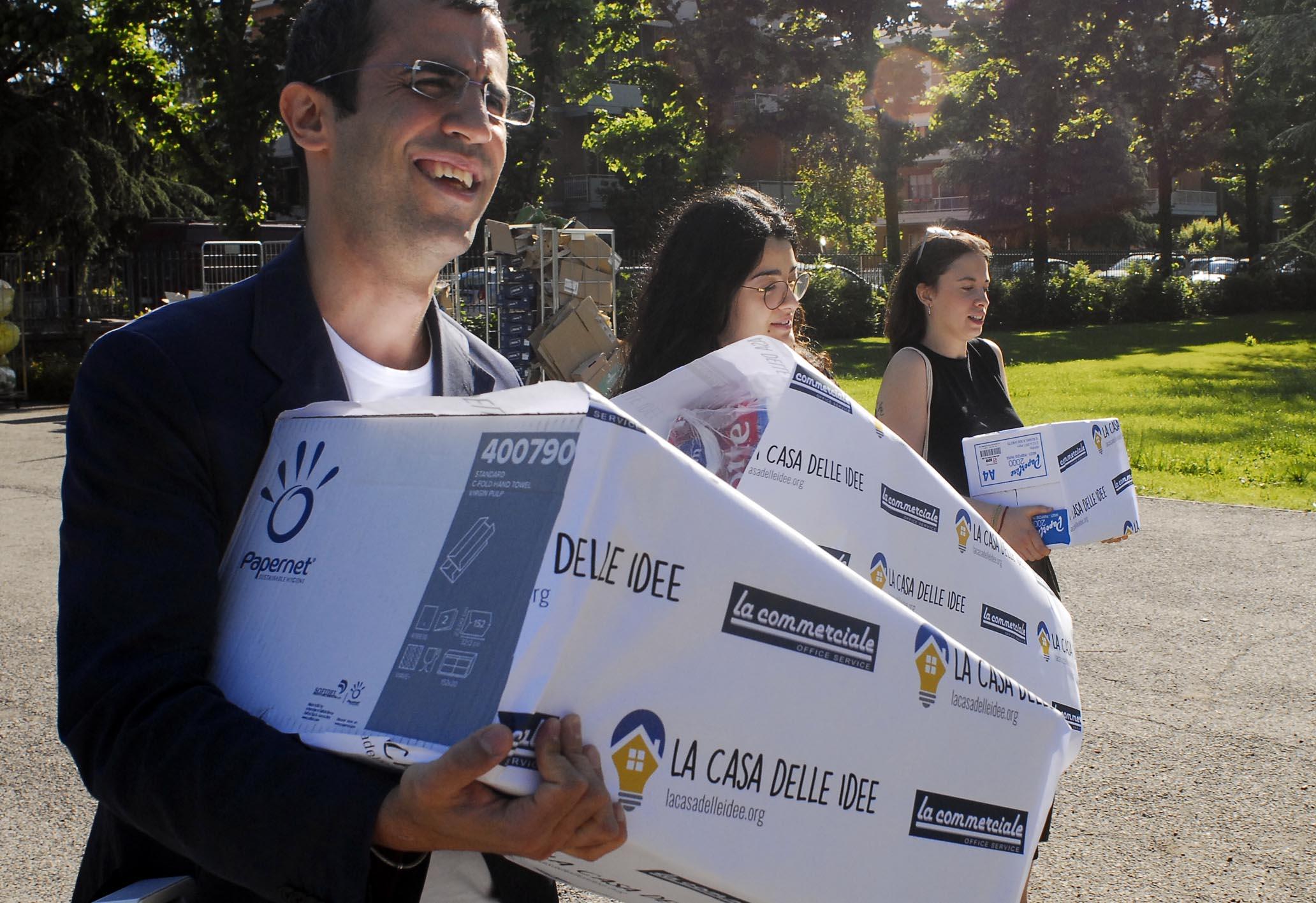 Nasce la casa delle idee con la prima donazione alla scuola corazza perch ai bambini non - Donazione casa ai figli costi ...