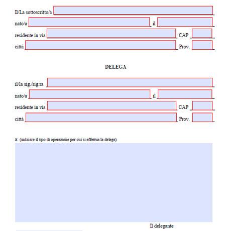 Come scrivere una delega per ritiro documenti | WizBlog