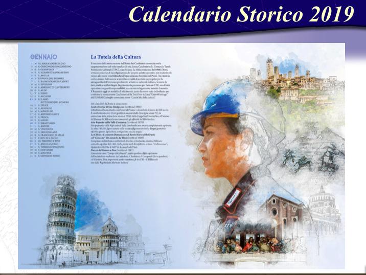 Calendario Storico Carabinieri 2020.Carabinieri Ecco Il Calendario Storico 2019 Foto Video